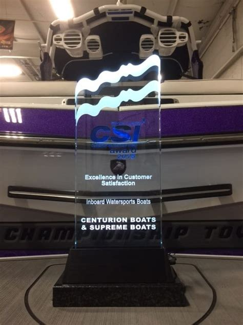 Centurion Boats Factory Tour by Nmma Recognizes Centurion Supreme Boats With A Marine