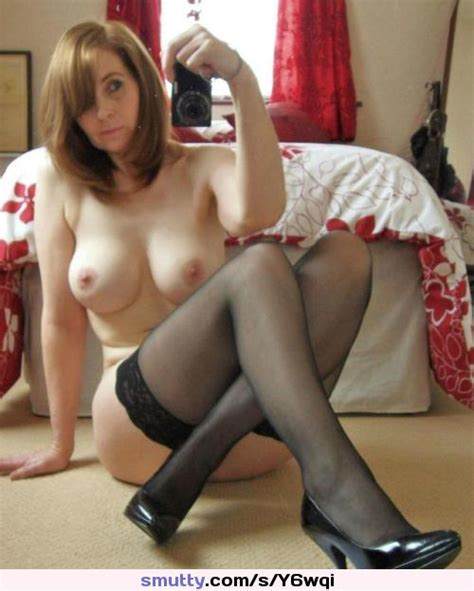 Super Milf Poses In Her Pantyhose Amateur Milf Mom