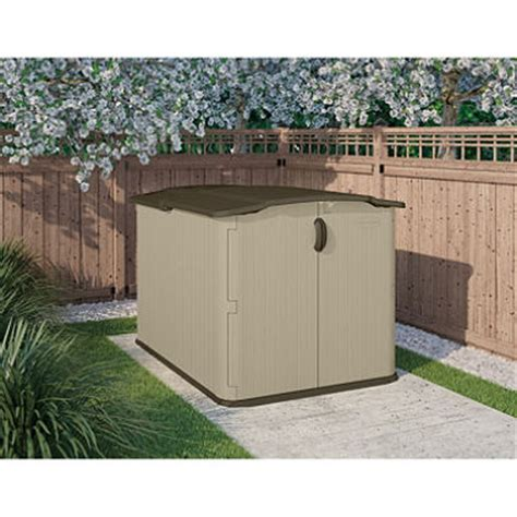 Suncast Glidetop Storage Shed by Suncast Glidetop Shed Sam S Club