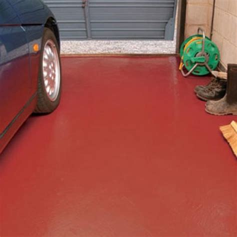 garage floor paint quick drying ronseal garage floor paint