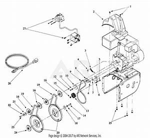 Mtd 31ae762f013  1999  Parts Diagram For Engine And V