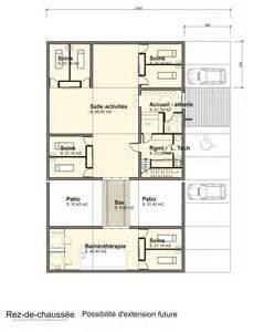 plan extension cabinet kine hugo le architecte