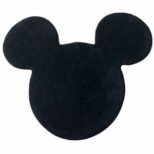 mickey icon rug black   Clipart Panda - Free Clipart Images