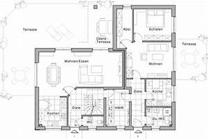 Bauen Zweifamilienhaus Grundriss : erdgeschoss wohnung 1 und 2 einliegerwohnung zwei ~ Lizthompson.info Haus und Dekorationen