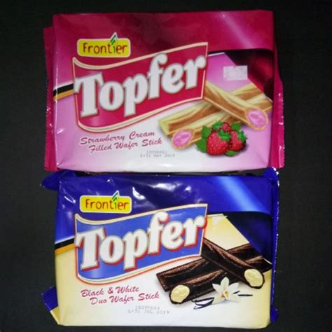 FRONTIER TOPFER WAFER STICK 120G | Shopee Malaysia