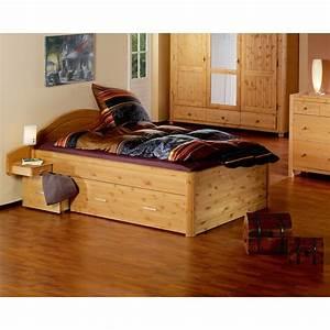 Bett Kiefer 140x200 : bett tina 140x200 kiefer gebeizt ge lt d nisches ~ Whattoseeinmadrid.com Haus und Dekorationen