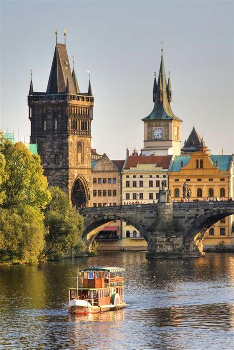 Charles Bridge Prague Czech Republic ~ Czech Republic