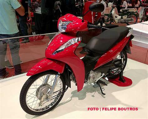 Pcx 2018 Vermelha by Honda Biz 2018 Ganha Freios Combinados E Aumento De Pre 231 Os