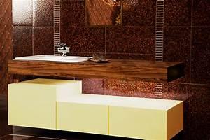 lavabo mobilier bois pour salle de bain d39hotel With mobilier salle de bain bois