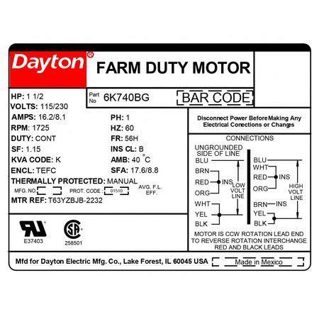 wiring diagram for dayton electric motor impremedia net