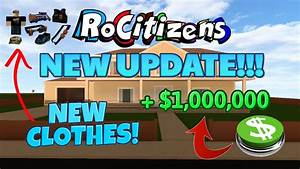 NEW ROCITIZENS UPDATE! - Pets and Clothing?!? [April 2017 ...