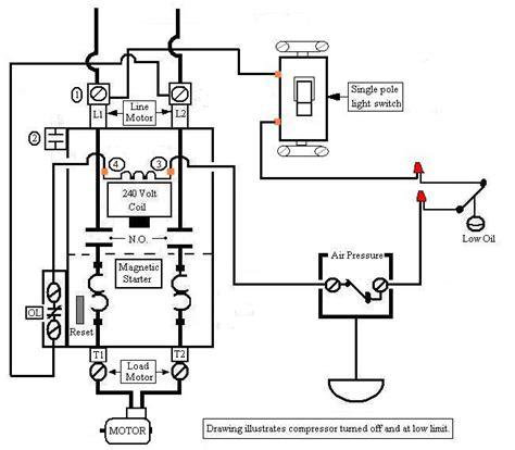 craftsman air compressor wiring diagram compressor wiring diagram 3 phase somurich