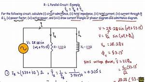 Rl Parallel Circuit  Ac    Example