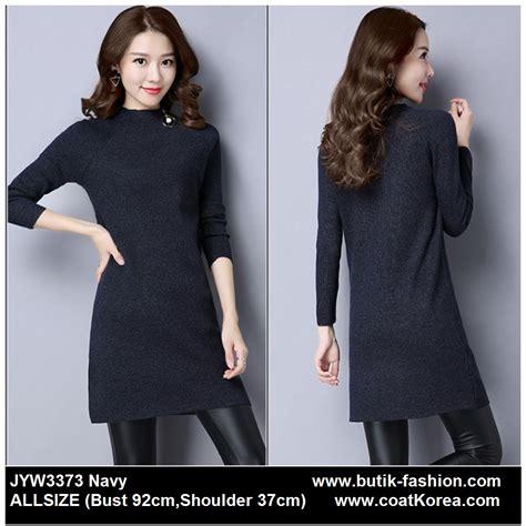 sweater wanita korea knitting sweater jyw3373 4warna