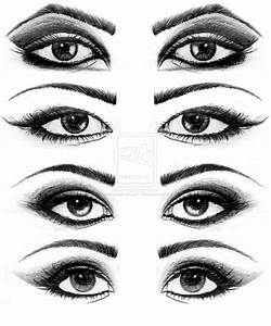 Easy Pencil Drawings Of Eyes Step By Step Simple Eye ...