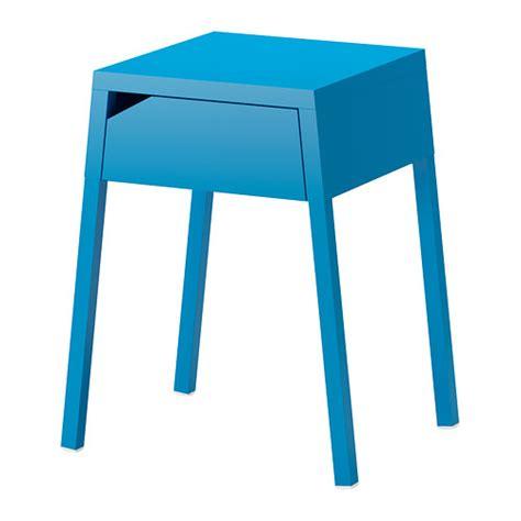 selje table de chevet bleu ikea