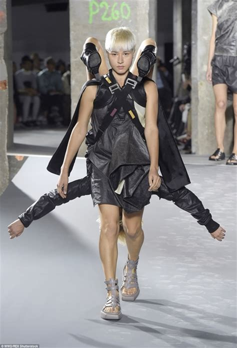 Most Weird Runway Ever Photos Of Models Carrying Each