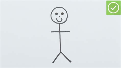 How To Draw A Stick Figure