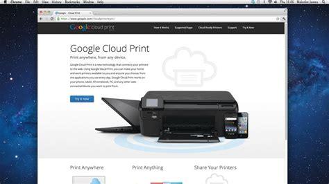 google cloud print techradar