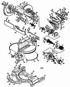 Dewalt Model Dw704 Type 4 Miter Saw Genuine Parts