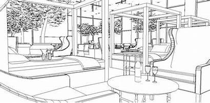 Colouring Lounge Spa Sky Rendering Computer