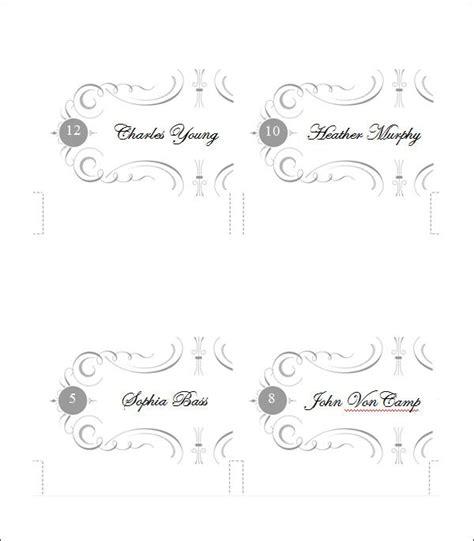 printable place card templates designs