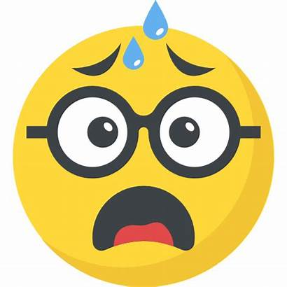 Emoji Tired Emoticon Exhausted Face Nerd Icon