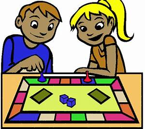 People Playing Board Games Clipart - Clipart Suggest