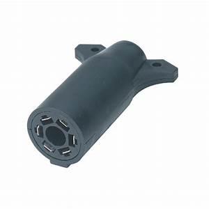 7 Way Flat Pin To 6 Way Round Pin Trailer Wiring Plug