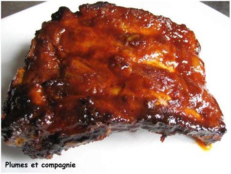 cuisiner des travers de porc travers de porc caramélisés cuisson au four plumes et