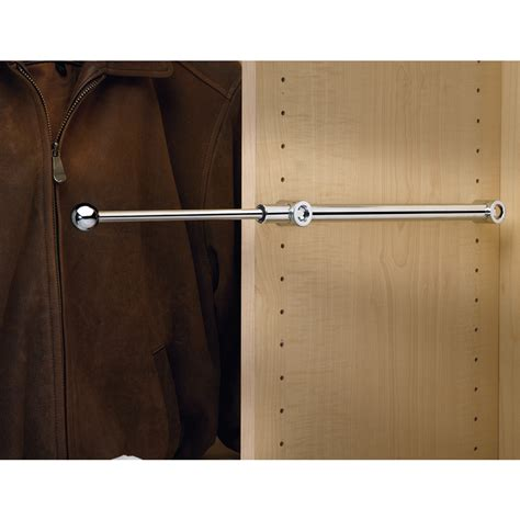 shop rev a shelf chrome designer valet rod at lowes
