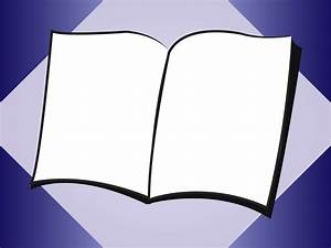 Blank Open Book Clip Art – Cliparts