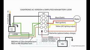 Casatronic Ignition Lambretta Wiring Diagrams  English