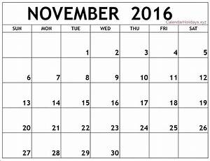 november 2016 word calendar wordcalendar calendartemplates With free downloadable calendar templates for word