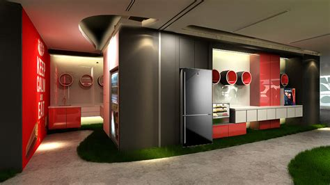 renoyou cky interior sdn bhd nestle office chillout area