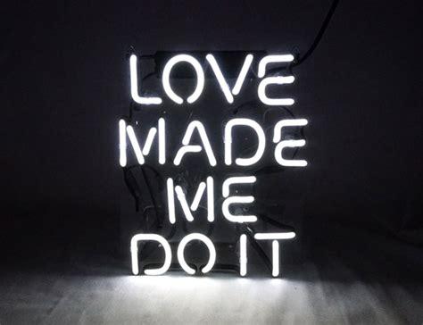 love   doit cool glass neon sign led lamp night