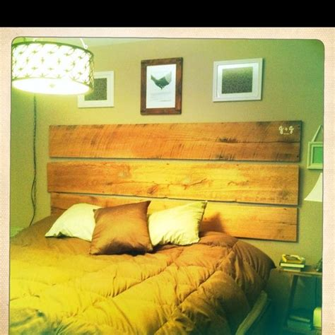 Did Headboard by He Did It Headboard From Barn Wood By Ja For