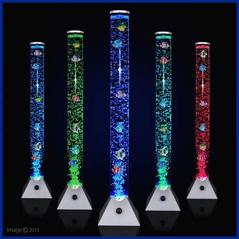 tall bubble fish l colour changing led sensory mood bubble fish water tower