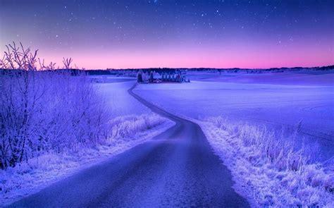 冬日绝美雪景摄影桌面壁纸 第3张 1920x1200 桌面壁纸 (天堂图片网)