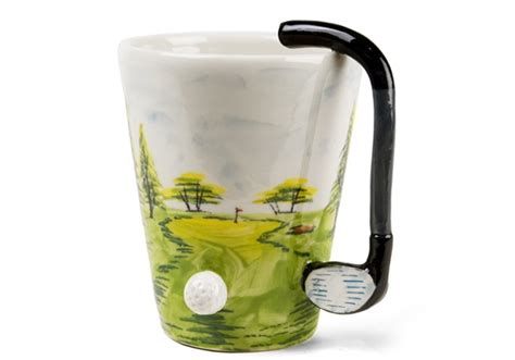golf handmade oz coffee mug  blue witch centralcrafts
