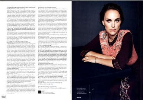 More Elle Scans Natalie Portman Photo Fanpop