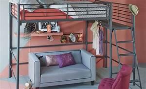 Alinea Chambre Ado : 1000 images about chambre ado on pinterest industrial lit mezzanine and banquettes ~ Teatrodelosmanantiales.com Idées de Décoration