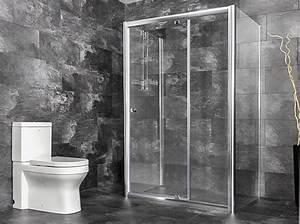 Duschkabine 3 Seiten : u form dusche freistehende duschabtrennung 3 seiten ebenerdige duschkabine ns9 140x80 80x140 cm ~ Sanjose-hotels-ca.com Haus und Dekorationen
