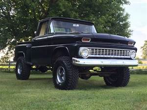 1963 Chevrolet K10 Short Box Stepside 1  2 Ton 4x4  Rare