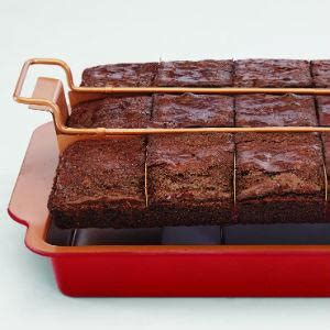 amazoncom red copper brownie bonanza pan  bulbhead includes recipe guide kitchen dining