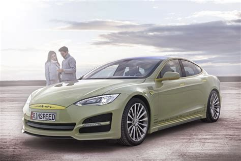 Rinspeed XchangE Concept: Tarted-Up Automonous Tesla At ...