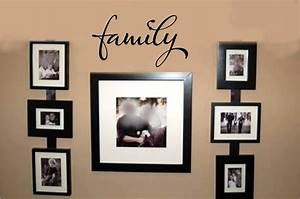 family wall words stickers decal vinyl lettering decor ebay With family lettering wall art