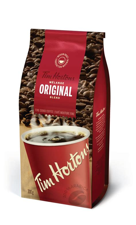 Made using our own unique blend of 100% arabica beans. Tim Hortons Original Blend Fine Grind Coffee | Walmart Canada