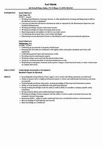 industrial electrician resume samples electrician resume samples velvet jobs