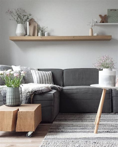 Painting a textured wall can enhance the effect further. 20 Lovely Decor Ideas for Adding Impact Above The Sofa - Style Motivation